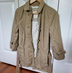 Abercrombie & Fitch peacoat jacket 3/4 sleeves Med